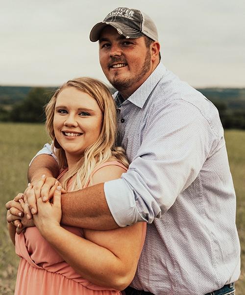 Abigail Christensen and Wyatt Blake