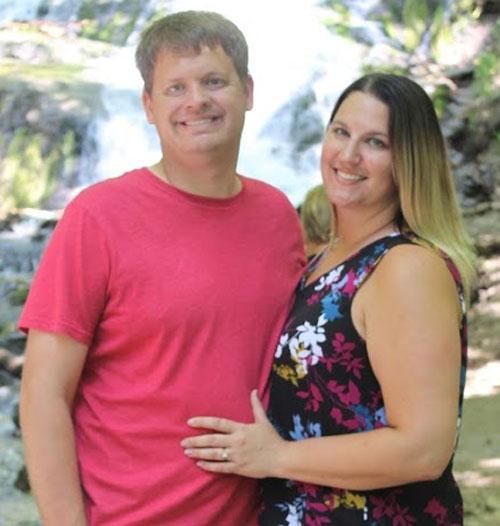 Larry Kubitz and Jen Eby