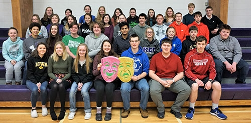 The Kee High School Speech program is getting its competition season underway, beginning with Conference Large Group Speech Contest scheduled for...