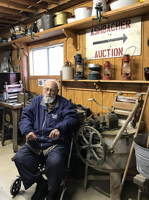 by Kristin Kopperud-StinnGeorge Ashbacher has one of the largest collections of memorabilia in northeast Iowa. Most of the items on display at...
