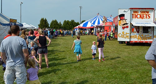Friday, August 3 was a busy day at the Allamakee County Fairgrounds in Waukon, as both the Culpepper & Merriweather Circus and the annual Waukon...