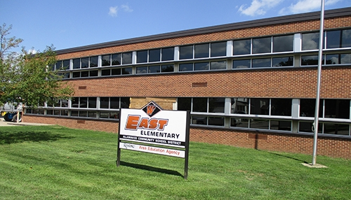 by Brianne Eilers		Work continues on the renovations at the East Elementary school building in Waukon. The building is now sporting new windows,...