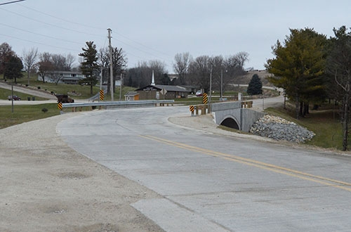 The Allamakee County Board of Supervisors toured several projects following its Tuesday, November 13 meeting, including the Green Valley Bridge,...