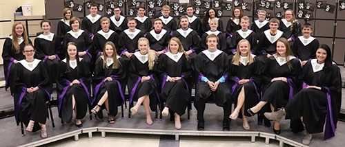 Waukon High School welcomed the newest members into its local chapter of the National Honor Society at an annual induction ceremony held Thursday,...