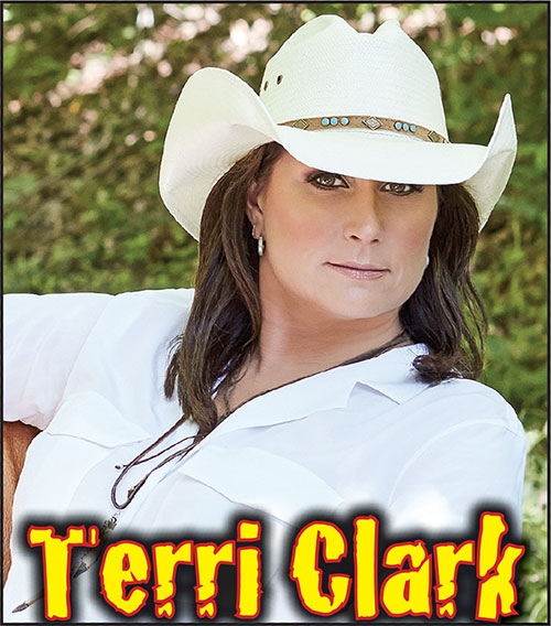 Legendary female country music star Terri Clark to headline Friday's grandstand; Free carnival throughout the fairThis week, July 18-22, ...