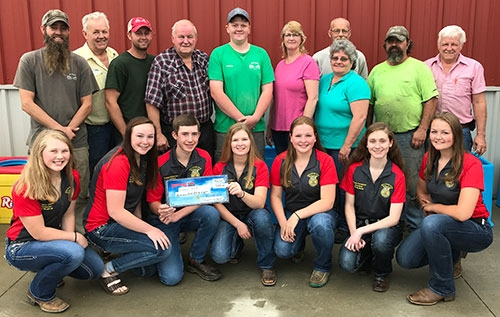 Support from local businesses is essential in the success of the Little Switzerland FFA chapter at Waukon High School and its members, and Village...
