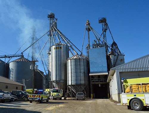 The Waukon Fire Department had an initial call for a possible natural gas smell at one location turn into an actual fire call at an adjacent location...
