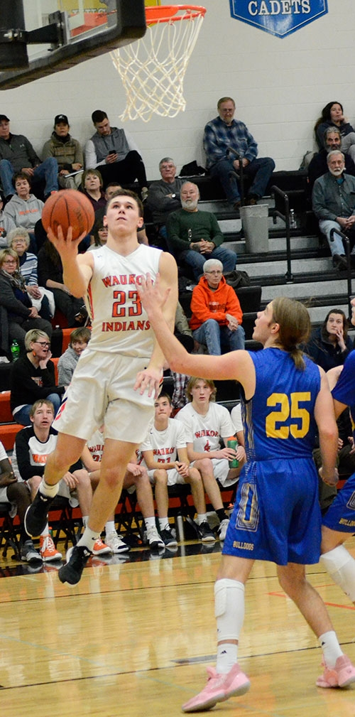 The Waukon boys basketball team faced one of its busiest schedules of the season this past week, but had a late-week winter storm trim that slate...