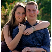 Cassandra Drew and Eric Lanning