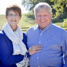 Jeannine and David Zimmerman