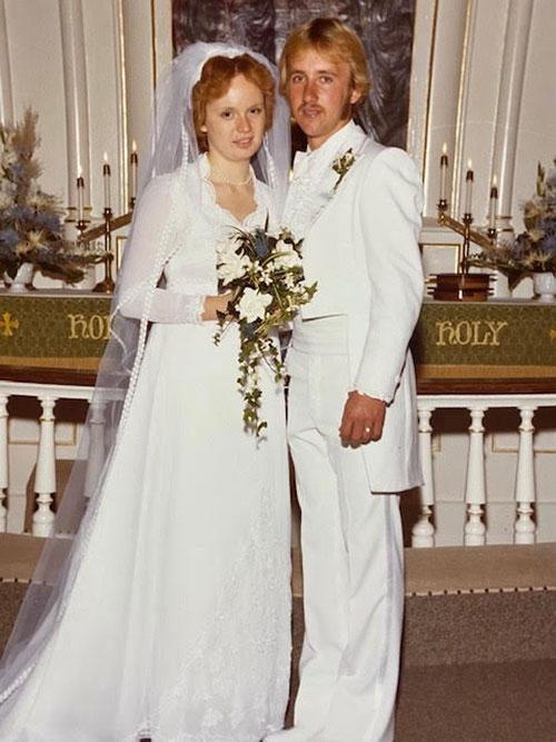 Sheryl and Steve Evanson