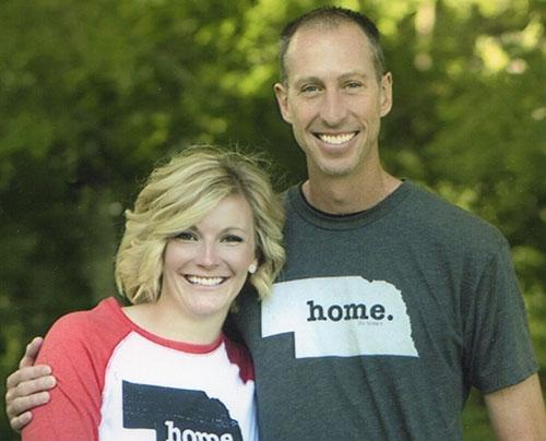 Lindsey Smrcina and Jason Chicoine