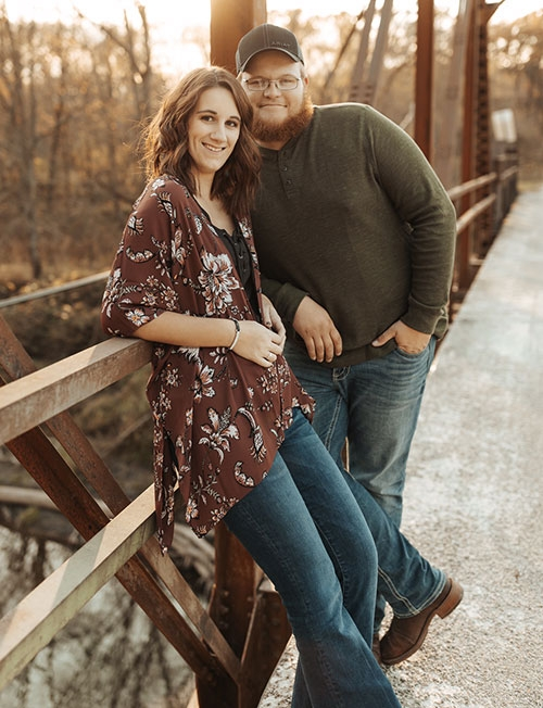 Shelby Troendle and David Richards