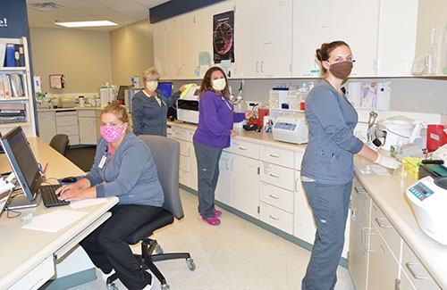VMH Laboratory returns to full services ...