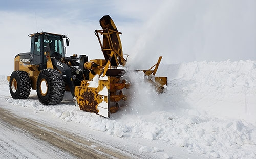 by Lissa Blake		With 880 miles of road to maintain, Allamakee County road crews have been putting forth their best effort to combat the snow, ice...