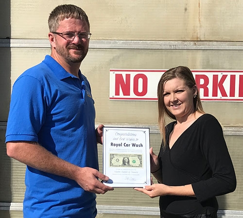 Royal Car Wash, located at 501 Rossville Road in Waukon, is under new ownership as of the end of August. Kyle Bugenhagen of Luana took over ownership...