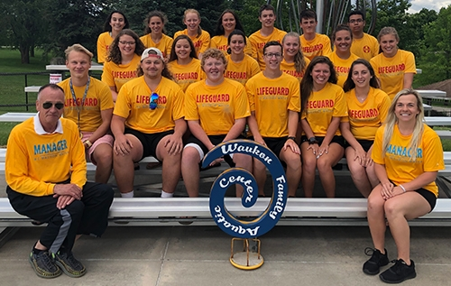 More than two dozen local young men and women of high school to college age have been serving local residents and visitors to the Waukon Family...