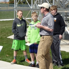 Seventh grade geography students learn about Orienteering ...