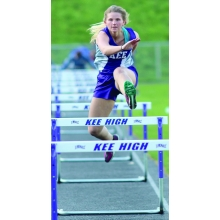 Third-place hurdle effort, and more ...