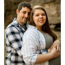 Jason Collins and Jenna Rosendahl