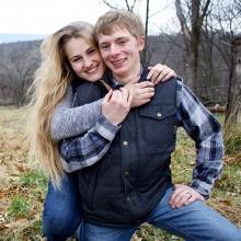 Haley Teske and Austin Day