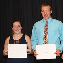 4-H Scholarship winners from Waukon High School ...