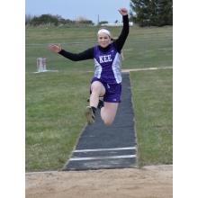 Personal-best long jump claims second ...